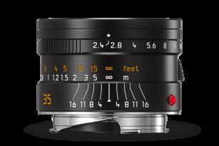 SUMMARIT-M 35 mm/F2.4 ASPH BLACK ANODIZED FINISH